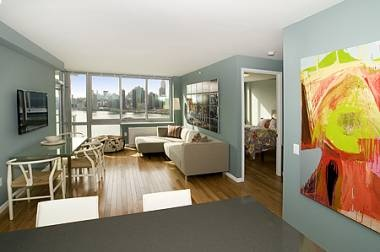 Amazing 2 bedroom for rent. Price:$3,675.Stones Countertops, Glasses Tile, Green Parks, Tile Kitchens, Buildings, Bath, Long Islands, Manhattan, Bedrooms