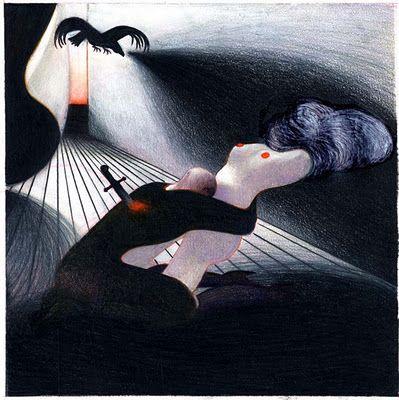Lorenzo Mattotti / The Raven, Le corbeau, El cuervo