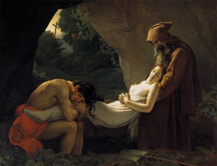 Atala d'Anne-Louis Girodet - andstilltheboxisnotfull - La peinture romantique : comment l''art suggère