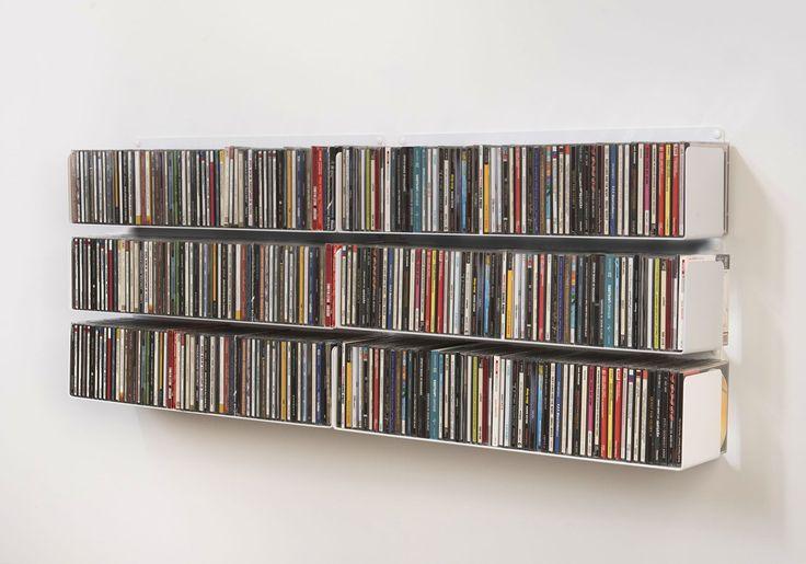 best 25 cd shelving ideas on pinterest cd storage dvd storage shelves and dvd storage solutions. Black Bedroom Furniture Sets. Home Design Ideas