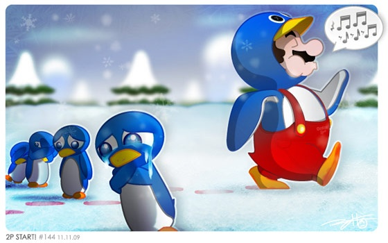 Real History of Mario's Penguin SuitPenguins Suits, Mario Penguins, Real History