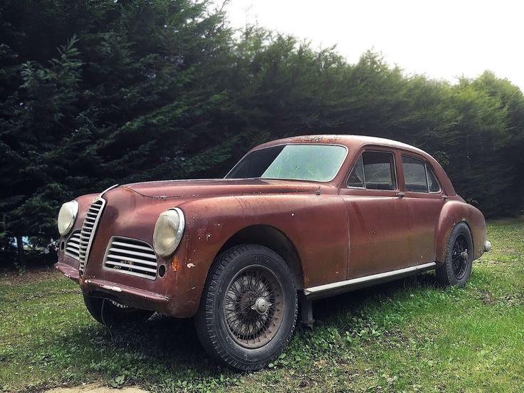 17 made! 1950 Alfa Romeo 6C 2500 Sport Berlina - http://barnfinds.com/17-made-1950-alfa-romeo-6c-2500-sport-berlina/
