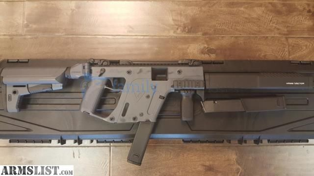 "ARMSLIST - For Sale: Kriss Vector CRB Enhanced 45 G2 16"" M4 Stock Grey"