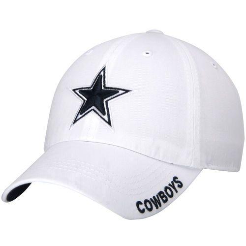 Dallas Cowboys White Slouch Hat