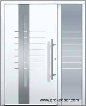 17 mejores ideas sobre puertas de aluminio en pinterest - Puertas de aluminio para entrada principal ...