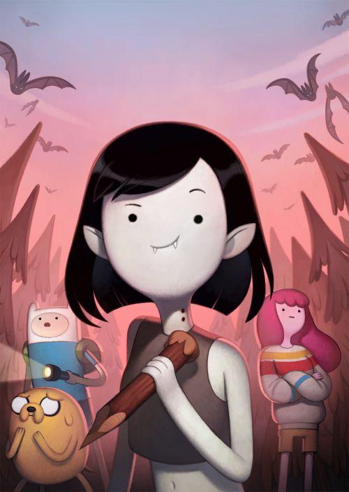 JOY ANG - kingofooo: Adventure Time: Stakes DVD cover...