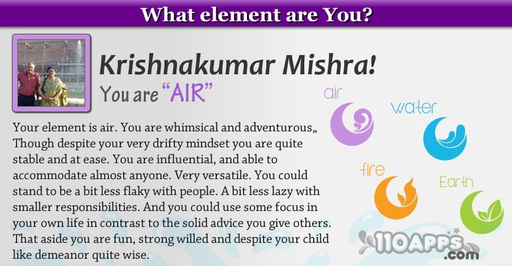 What element are you?