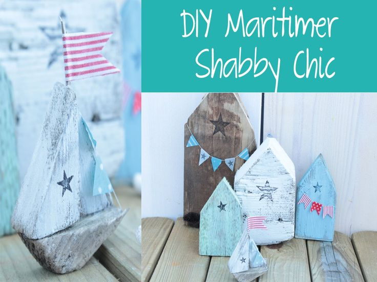 DIY: Maritimer Shabby Chic Style (Holz patinieren)