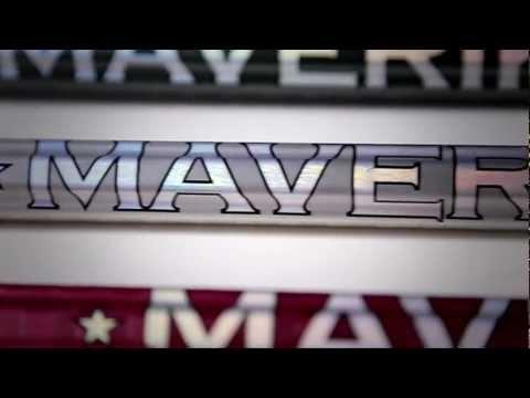Maverik Lacrosse :: H2 Scandium Titanium Shaft - YouTube