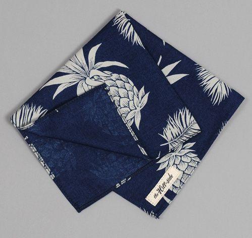 Pineapple Pocket Square