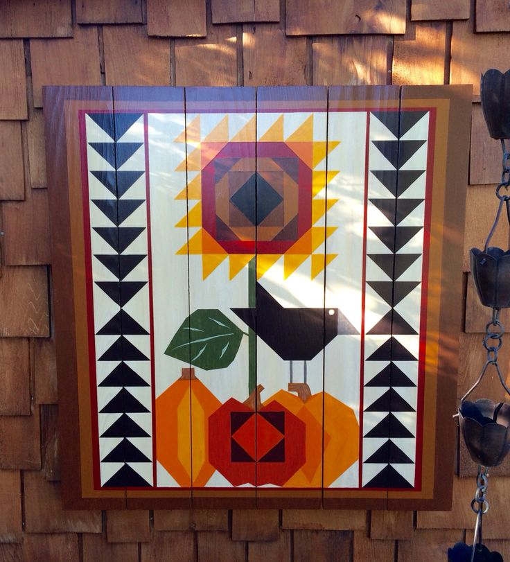 Pumpkin Harvest Barn Quilt