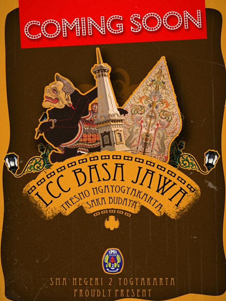 Coming Soon! LCC Basa Jawa SMA Negeri 2 Yogyakarta. #event #Yogyakarta #COMINGSOON @eventsmadayk @smadajogja