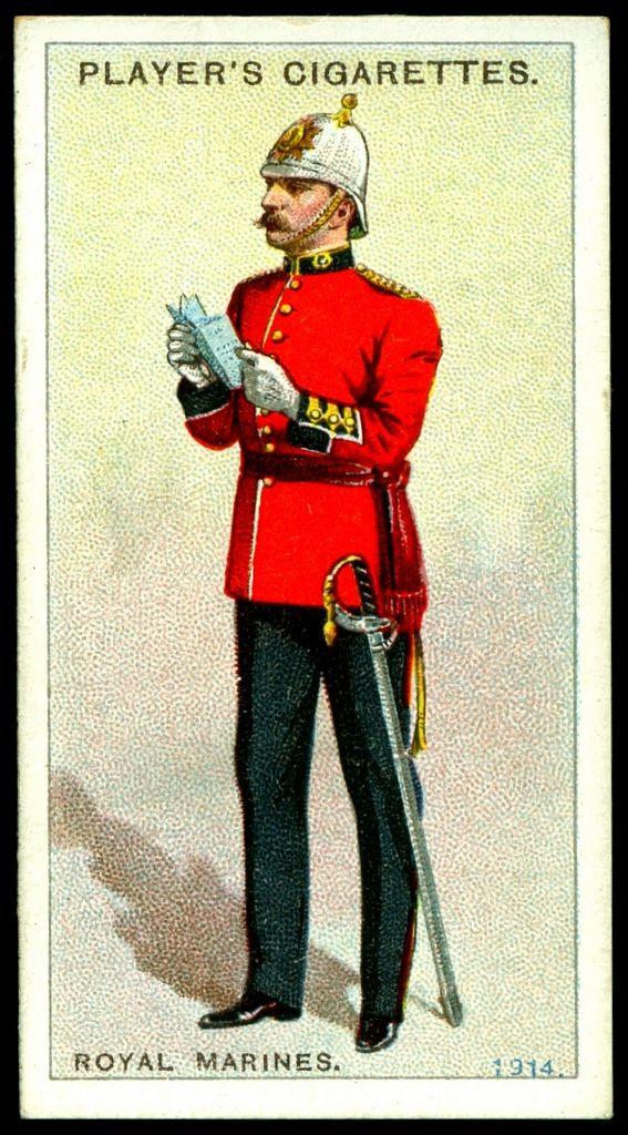 Cigarette Card - Royal Marines, 1914   Flickr - Photo Sharing! #71