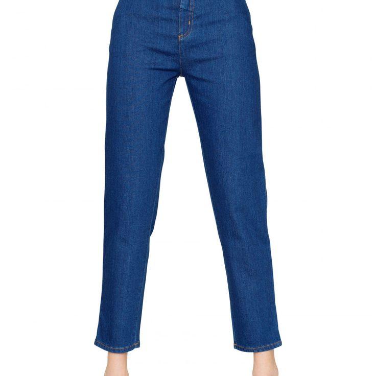 Mom Jeans Denim Medium Wash