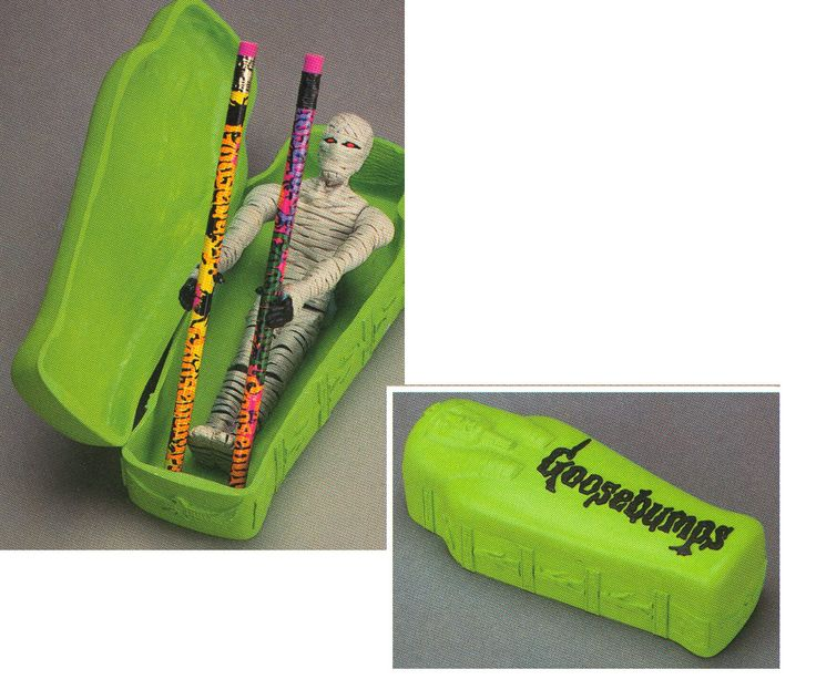 Goosebumps Pencil Box