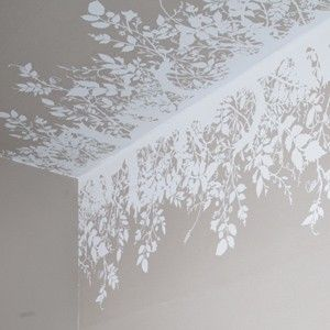 branch out hand printed wallpaper border noted for surreal and provocative