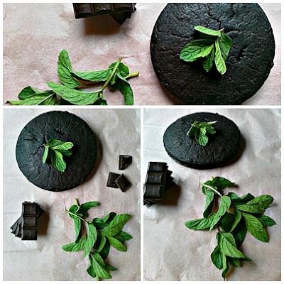 Ciasto czekoladwo miętowe ze szpinakiem