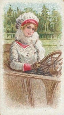 Alla guida, 1913