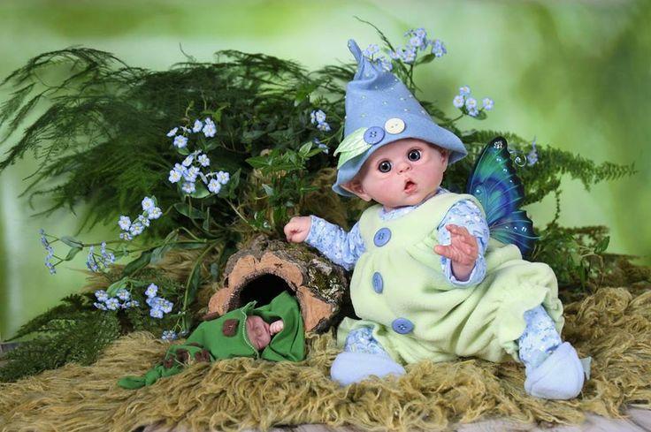Reborn doll elf Ofelia- miny elf/pixie/fairy - Olga Auer by Dagmar Němcová On order www.facebook.com/...
