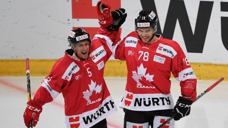 Canada wins 2nd-straight Spengler Cup
