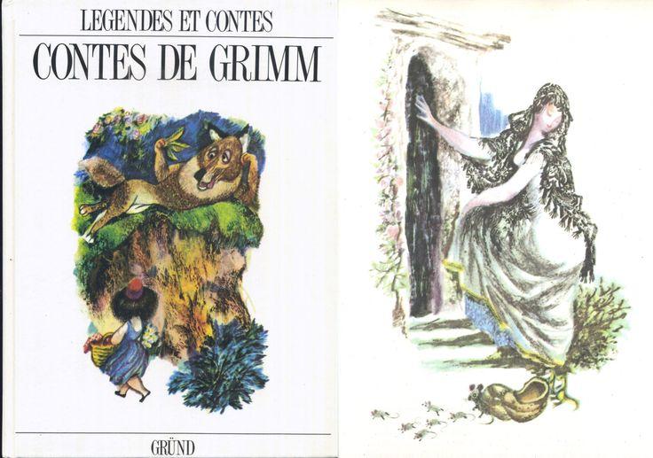 Jiri Trnka - Contes De Grimm, Gründ Légendes et Contes de Tous les Pays rééd. 1993 Cartonné illustré grand format