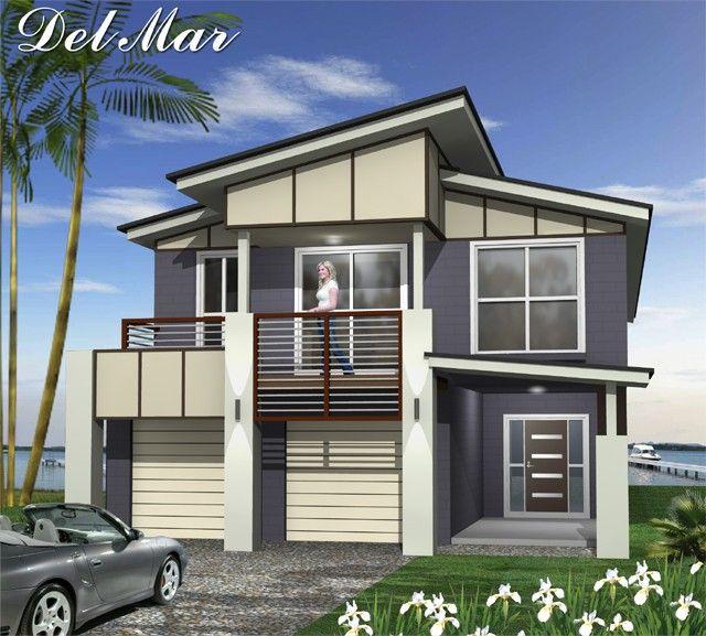 New Luxury Home Builder: Tullipan Homes Building Contractors, Split Level Home