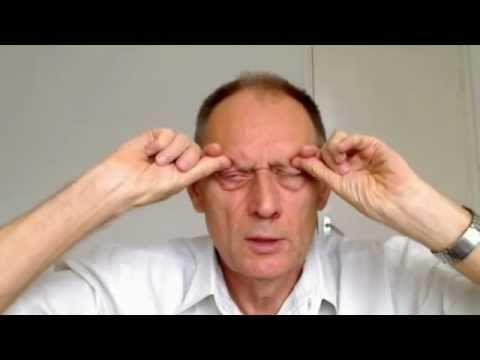 Массаж глаз и глазных точек для восстановления зрения - YouTube
