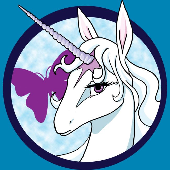 The Last Unicorn is a Tank Top designed by AriesNamarie to illustrate your life and is available at Design By Humans