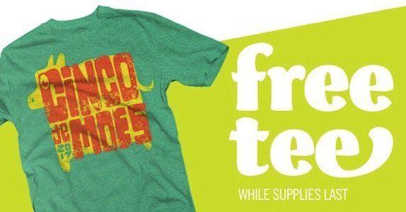 Free Moe's Southwest Grill T-Shirt :: http://www.heyitsfree.net/free-moes-southwest-grill-t-shirt/