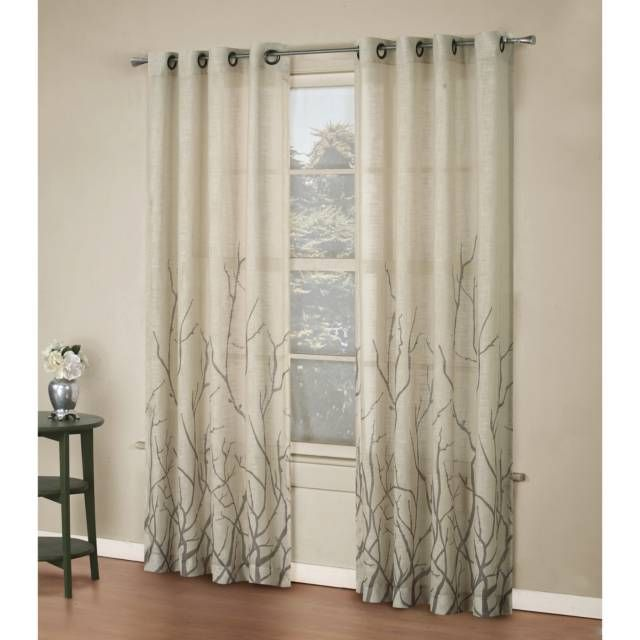 Tree Branch Curtains Home Decor Pinterest Window Curtains Curtain Panels And Tree Branches
