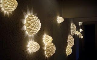 Marzua: Iluminación con apliques de pared