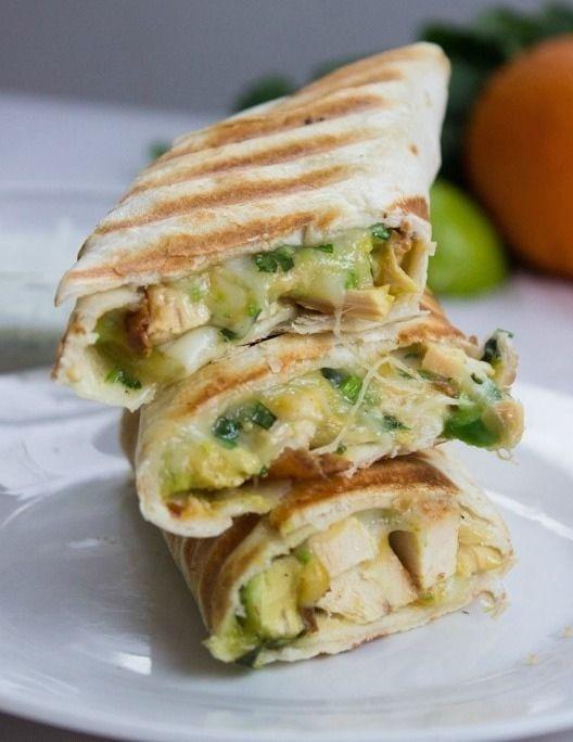 13. Quick and Easy Chicken Burrito #quick #healthy #recipes…