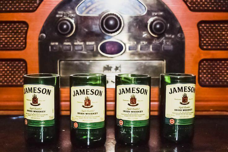 Jameson Irish Whiskey Mini Bottle Shot Glass