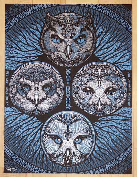 The Avett Brothers - silkscreen concert poster (click image for more detail) Artist: Todd Slater Venue: The Capitol Theatre Location: Port Chester, NY Concert Date: 4/09/2016 Edition: 200; signed and