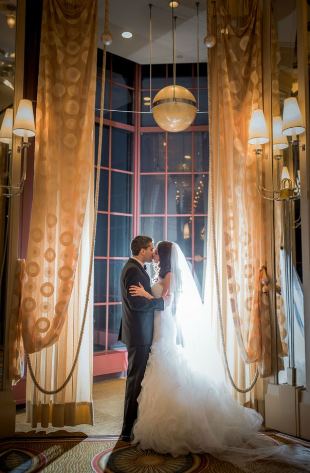 Elegant Wedding at the Westin St. Francis in San Francisco (Photo by Vivian N Photos)