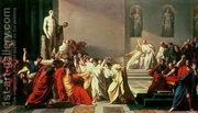 Death of Julius Caesar (100-44 BC)  by Vincenzo Camuccini