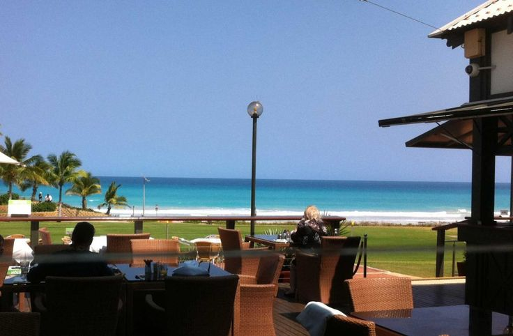 Sunset Bar & Grill Broome Daytime Breafast View