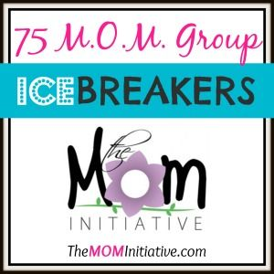 LOTS of FREE RESOURCES to help YOU MENTOR MOMS! Begin a M.O.M. Group today! FREE LIST of 75 ICEBREAKERS! FREE POSTCARD INVITATIONS! FREE M.O.M. GROUP FLYERS! FREE M.O.M. GROUP eBOOKS & REGISTRATION FORMS & FREE COMMUNITY INVOLVEMENT WORKSHEET! Make a difference TODAY!!