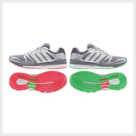 adidas Supernova Sequence Boost 7 Chill Men´s Running Shoes - silver / grey / green, 9.5.