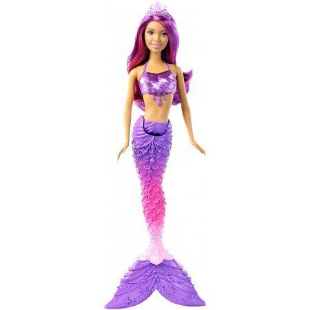 Barbie Mermaid Doll, Gem Fashion - Nikki, Multicolor