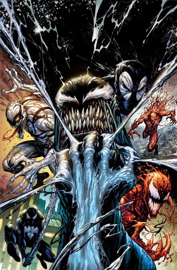 #Venom #Fan #Art. (Venom Vol.3 #3 KRS Comics Exclusive Variant Color Cover) By: Tyler Kirkham. ÅWESOMENESS!!!™ ÅÅÅ+