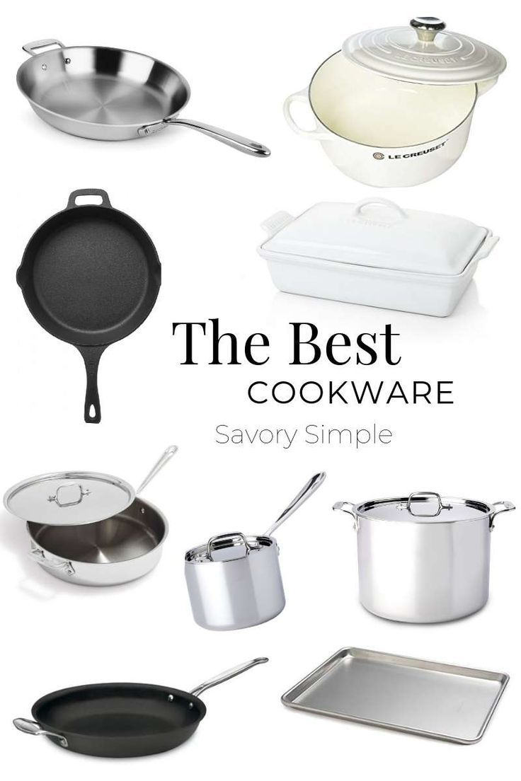 The Best Cookware Every Home Cook Should Own Cookware Set
