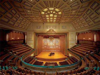 New England Conservatory - a space that always makes beautiful music