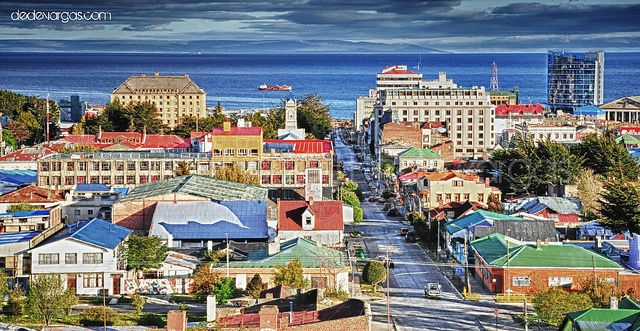Punta Arenas, southern most city in Chile