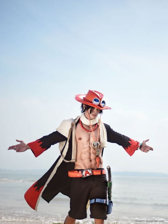 Anime : One Piece Character : Ace Coser : Vaxzone