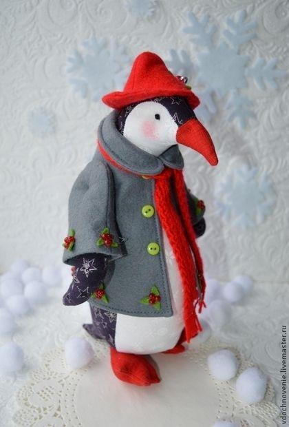 Пингвин Матильда. Handmade.