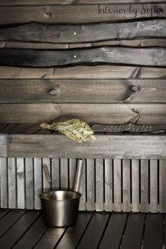 interior by sofia #black sauna