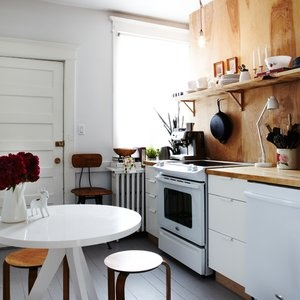 Some fun ideas for remodeling your kitchen... even if you're on a budget!