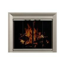 16 best fireplace doors and screens by portland for Residential retreat fireplace doors