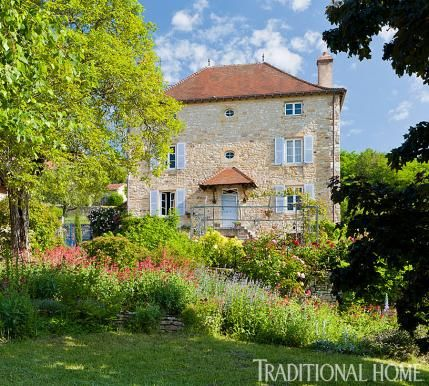 72 best design resource traditional home magazine images for French countryside homes